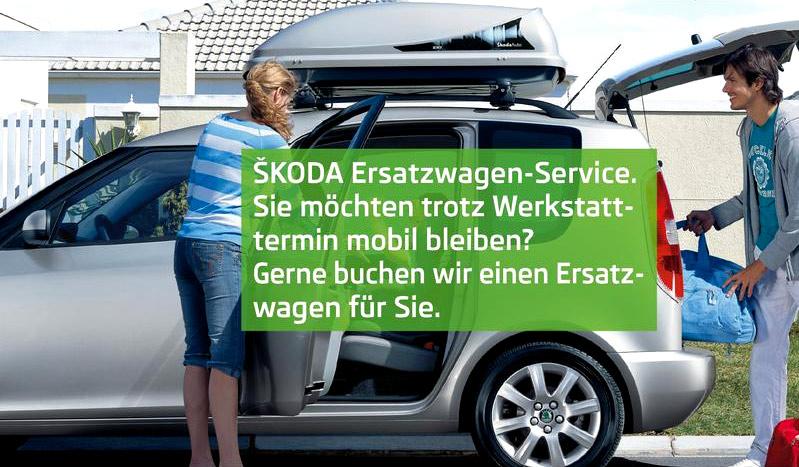 Auto Rosendahl Drensteinfurt - AUTOFIT Werkstatt Tankstelle Waschanlage Skoda-Service | Skoda Ersatzwagen