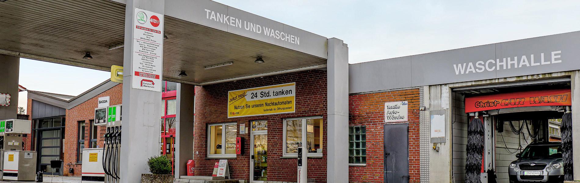 Auto Rosendahl Drensteinfurt - AUTOFIT Werkstatt Tankstelle Waschanlage Skoda-Service | Tankstelle