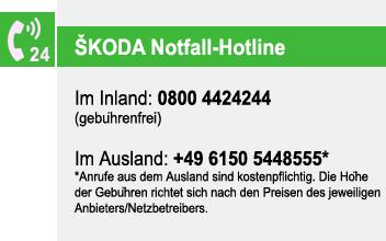 Autohaus Rosendahl - SKODA Notruf-Hotline